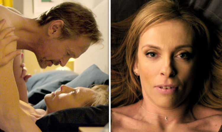 Wanderlust on BBC: 'Utter filth' Viewers stunned by raunchy Toni Collette  sex scene