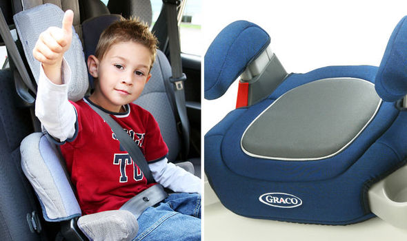 Booster seat rules on kids car travel