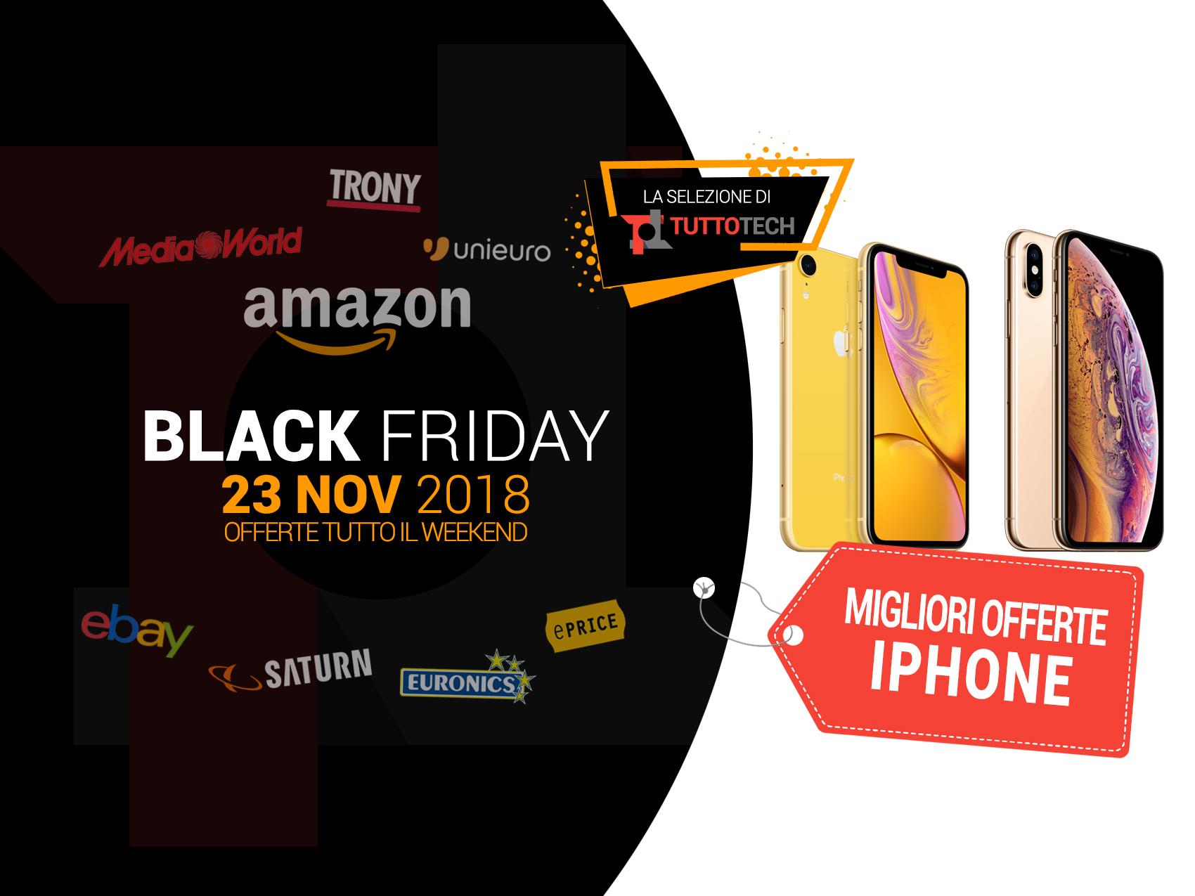 iPhone Black Friday: le migliori offerte in tempo reale