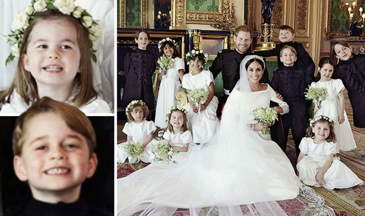 Royal Wedding Pictures Released But Charlotte And George Steal The