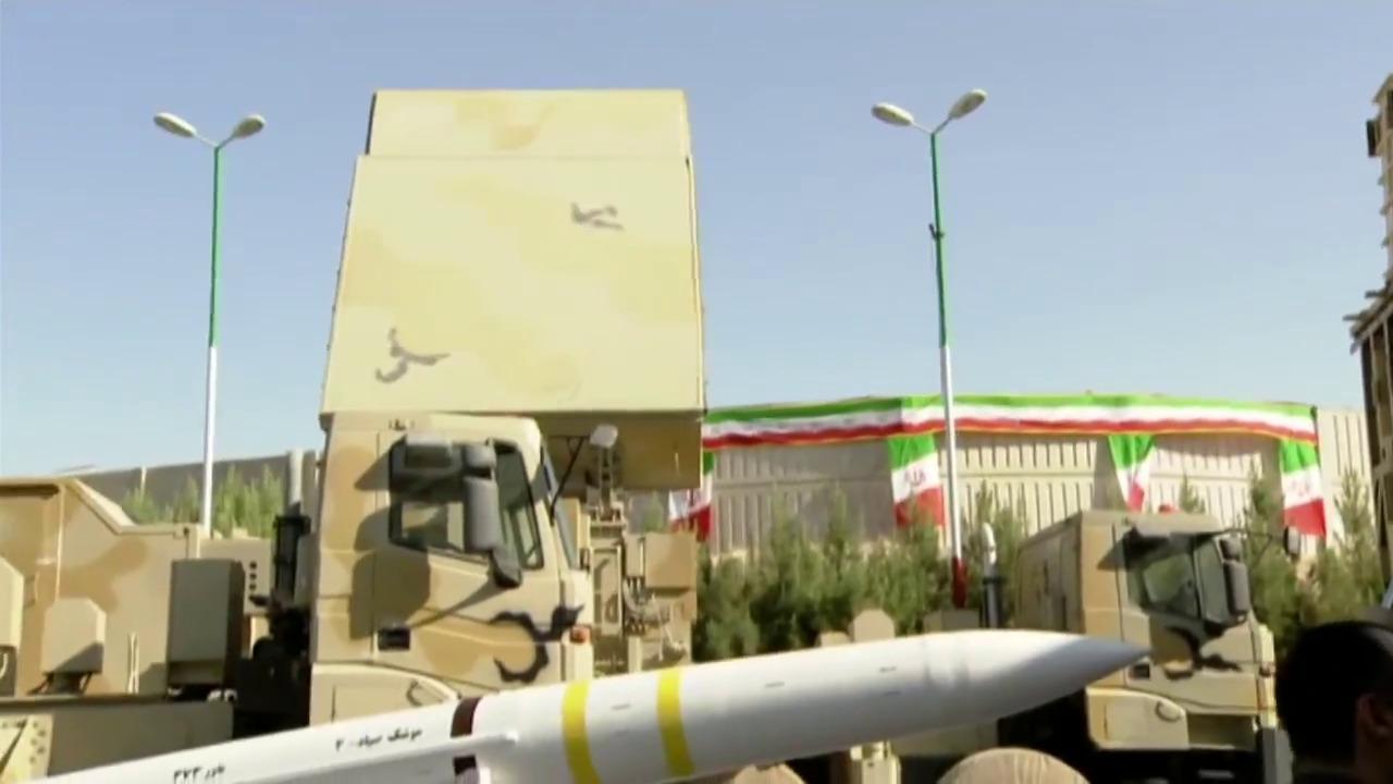 Iran unveil new air defence missile system Bavar-373