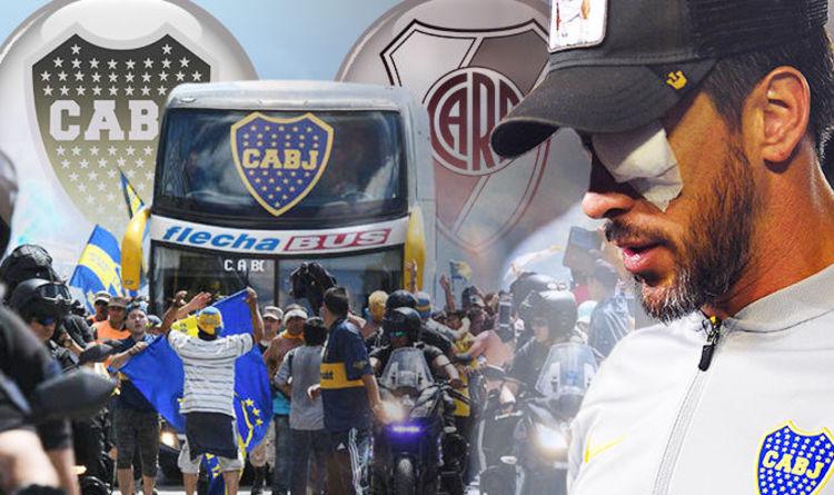 5e40ba99c Copa Libertadores final postponed AGAIN  Boca Juniors vs River Plate off  after talks