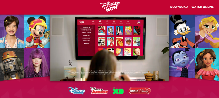 Disney Releases Disneynow A New App That Combines Live Tv On Demand Games And Music Techcrunch