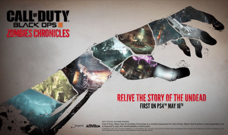 Black Ops 3 Dlc 5 Zombies Chronicles Maps Provide New Ghoulish