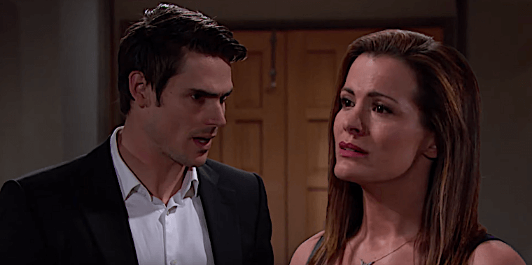 Young And The Restless Spoilers Adam Threatens Chelsea Connor Becomes Next Pawn In Prodigal S Son End Game Daily Soap Dish