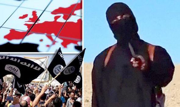 Αποτέλεσμα εικόνας για daesh fighter attack Europe