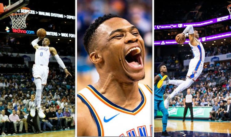 a756aa21b427 Russell Westbrook hails Thunder effort after win over Trail Blazers ...