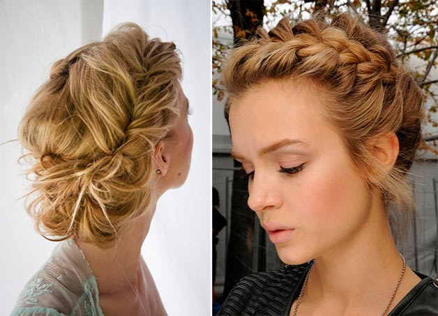 Fine How To Style A Low Braided Updo Fashionisersc Natural Hairstyles Runnerswayorg