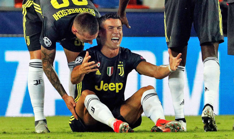 039983d1f51 Cristiano Ronaldo  This is why referee sent off Juventus star - Mark  Clattenburg