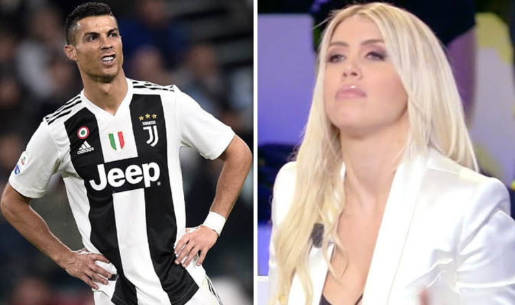 Cristiano Ronaldo Juventus Star Questioned By Mauro Icardi Wife