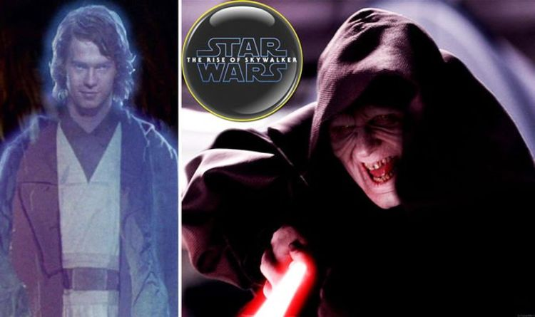 Star Wars 9 Rise Of Skywalker Theory Chosen One Anakin S Force Ghost Will Kill Palpatine Films Entertainment Express Co Uk