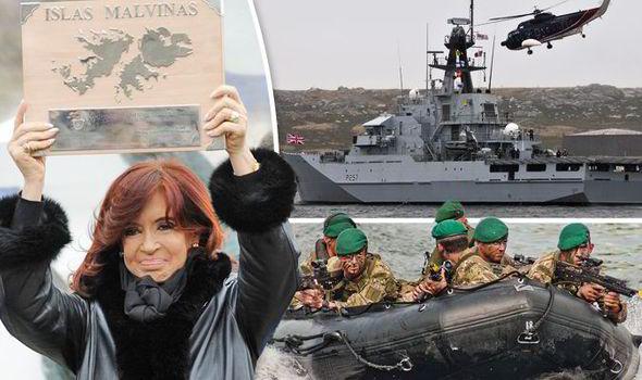 "Image result for falkland islands military"""