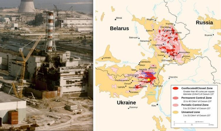 Chernobyl MAP: Countries that were affected by Chernobyl
