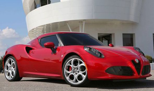 The New 4c Sports Car Has A Top Sd Of 160mph