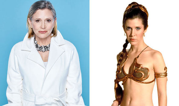wars star Carrie fisher