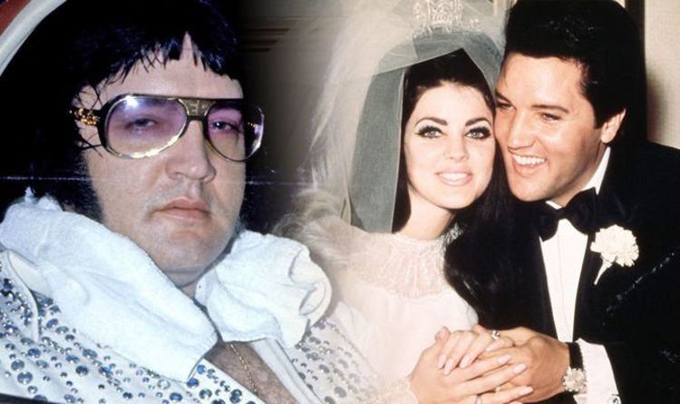 priscilla presley age when she married elvis