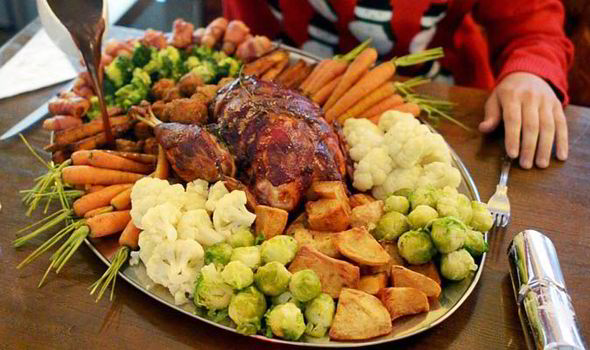 the 6000 calorie christmas dinner the worlds biggest