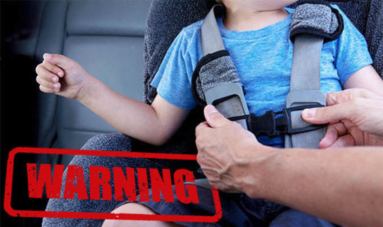 63b4cc86bfa0 Child car seat law - Thousands risking £500 fine by failing to do THIS  simple thing
