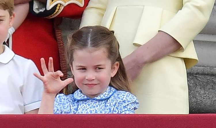 Princess Charlotte melts hearts at Trooping the Colour 2019