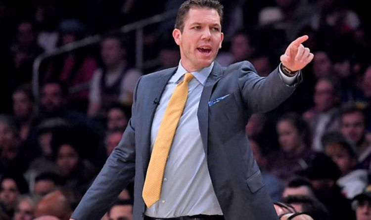 af72edd2eb64 Lakers stars REVOLT against head coach with locker room bust-up after  Warriors loss