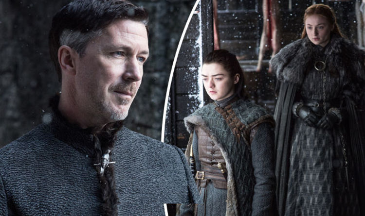 Image result for sansa and arya take down littlefinger