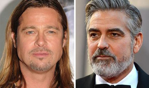 Top 10 Celebrity Beards Brad Pitt George Clooney Zac Efron Wayne Rooney Johnny Depp Express Co Uk