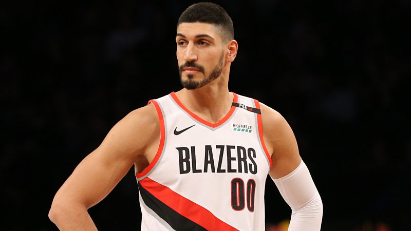 check out 7b7be b75aa Enes Kanter Is All For Celtics Fans Altering Their Kyrie ...