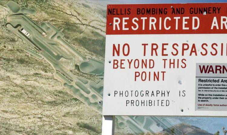 Ufo Sighting News New Area 51 Underground Base Found On Google