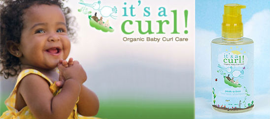 It S A Curl Organic Hair Care Is Perfect For Your Baby S Curly Tresses