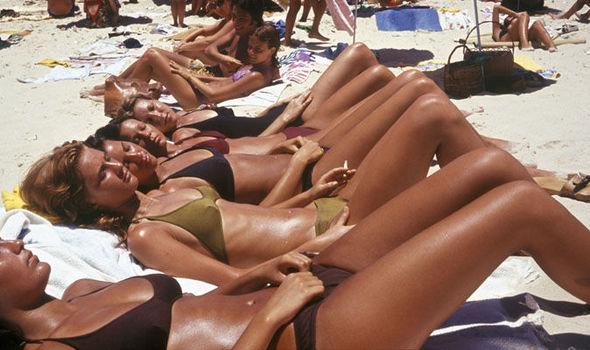 Beach bikini and less very pity
