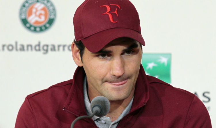 Roger Federer makes jibe at Nike -  RF are my initials - let me have them  back  f499408a4f7