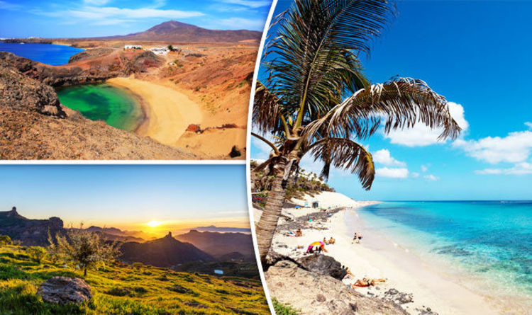winter sun this canary island is best for guaranteed sunshine travel news travel express co uk