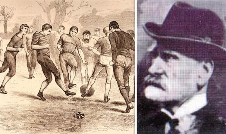Ebenezer Cobb Morley Who Was The Father Of Football Celebrated In Todays Google Doodle World News Express Co Uk