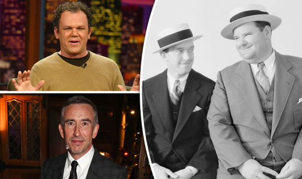 Steve Coogan and John C Reilly join forces in Laurel and Hardy ...