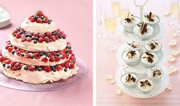 Pavlova Cupcakes Recipe Idea Di Immagine Del Torta
