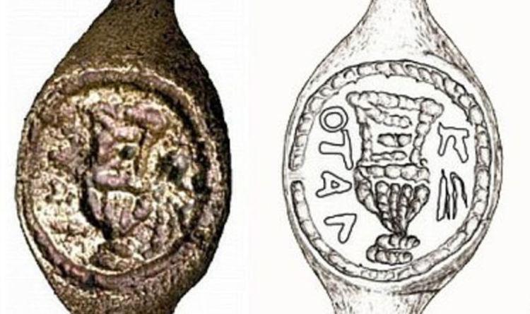 Ring uit Bethlehem was van Pontius Pilatus