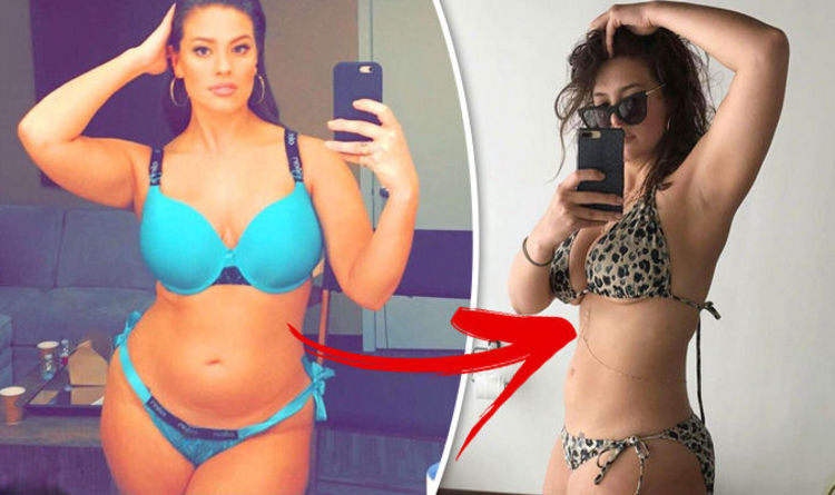 weight loss ashley graham slams critics who question her slimmer