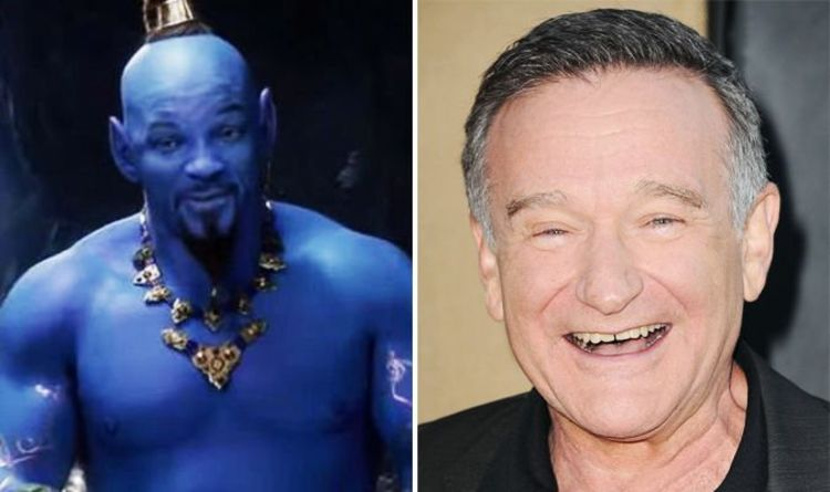 c3dcc81dd93 Aladdin fan art reimagines Robin Williams as live-action Genie instead of Will  Smith