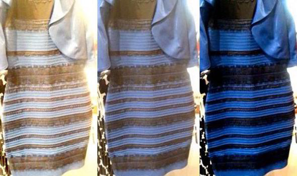 The Dress White And Gold Or Blue Black Frock Divides