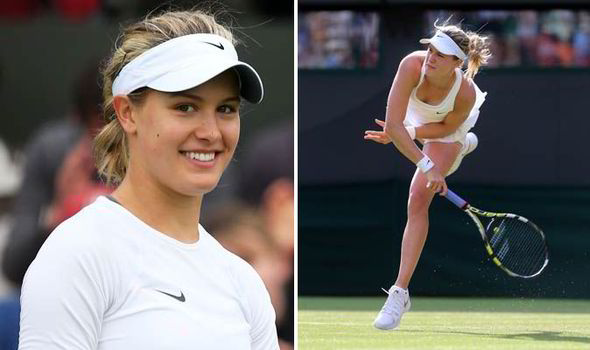 Eugenie Bouchard Gears Up For Wimbledon Final Uk News Express