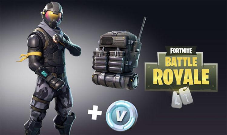 Fortnite Battle Royale Starter Pack Live Limited Bundle Out Now On