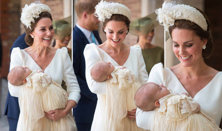 Prince Louis Christening Sees Kate Middleton Duchess Of Cambridge