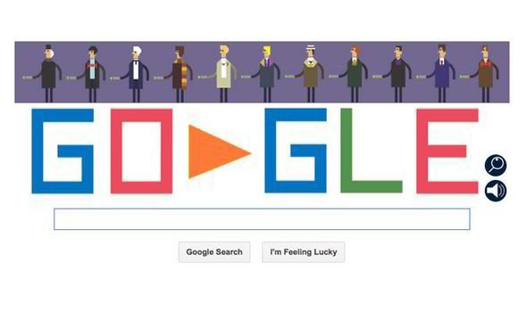Today 039 S Google Doodle Is Dedicated To The 50th Anniversary Of Doctor Who