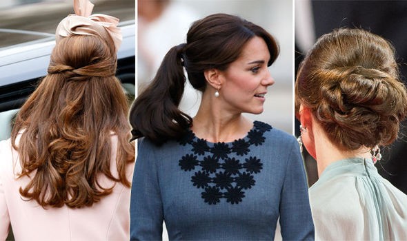 kate middletons hair style