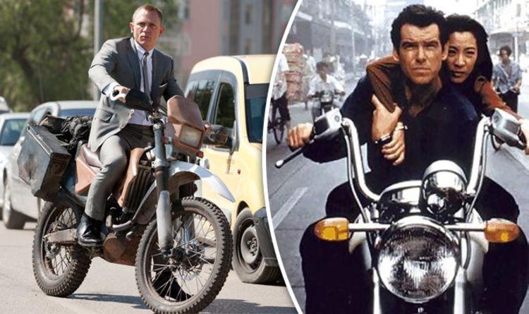 James Bond: Top 5 motorbike moments – From Skyfall to Goldeneye