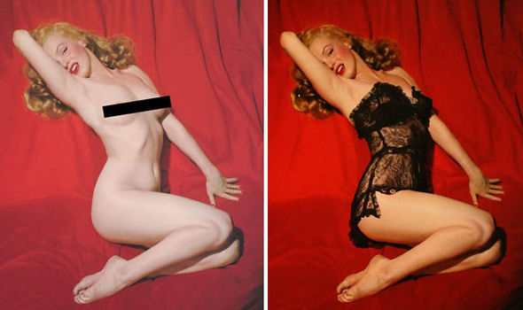 Marilyn monroe golden dreams nude