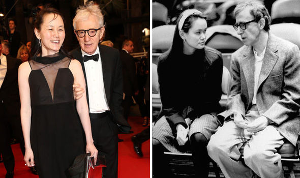 This Woody allen wife topless accept. opinion