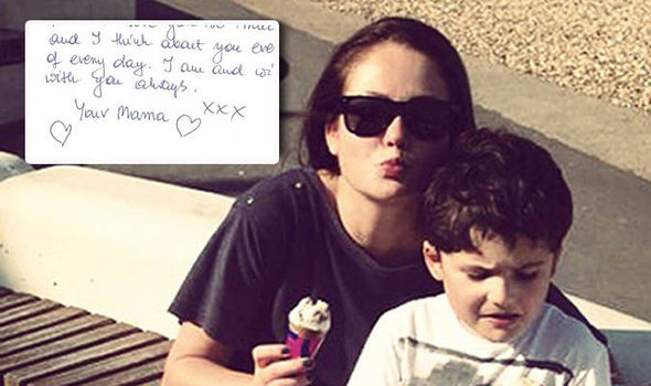Mum Leyla Dad's heart-wrenching open letter to son, 6, who