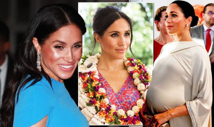 c10a604852979 The SHOCKING sums of cash Meghan spent on maternity wear including a  £90,000 dress