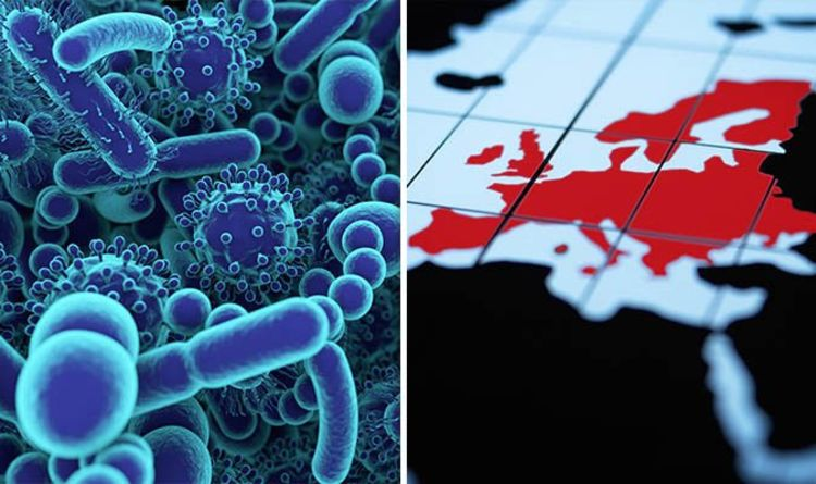 Killer viruses MAPPED: THE deadly disease that can KILL you
